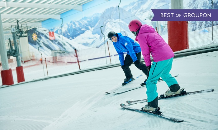 Hemel Snowcentre Ltd t/a The Snow Centre - Hemel Hempstead: Two or Twelve Hours of Group Ski or Snowboard Adult Lessons for One (Up to 62% Off)