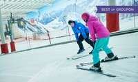 Two or Twelve Hours of Group Ski or Snowboard Adult Lessons for One (Up to 62% Off)
