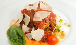La Traviata Restaurant: Three-Course Italian Dinner with Wine or Lunch at La Traviata Restaurant (Up to 45% Off)