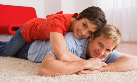 Carpet Cleaning for Three Rooms and a Hallway, or a Whole House (Up to 80% Off)