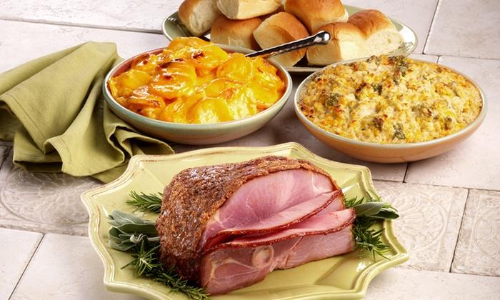 Honeybaked Ham - Streetsboro - Streetsboro: Sandwiches, Dinners, and Catering at Honeybaked Ham - Streetsboro (Up to 52% Off). Three Options Available.