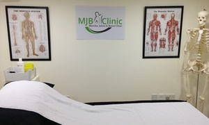 MJB Clinic: Osteopathic or Sports Injury Consultation and Treatment at MJB Clinic (73% off)