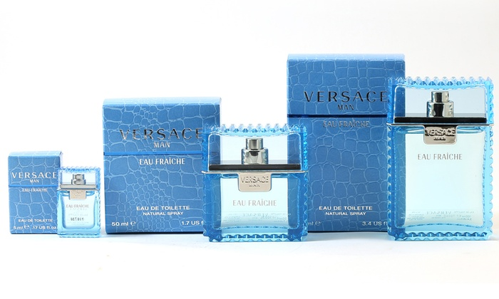 Up To 55 Off On Versace Man Eau Fraiche For Men Groupon Goods