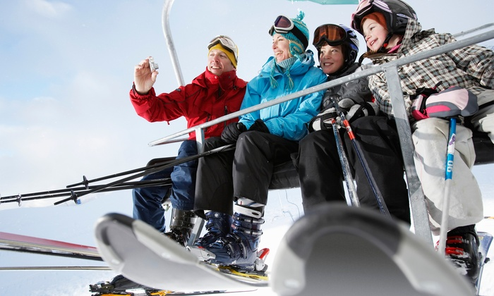 Christmas Mountain Village Skiing - Wisconsin Dells: Lift Tickets at Christmas Mountain Village (Up to 50% Off). Four Options Available.