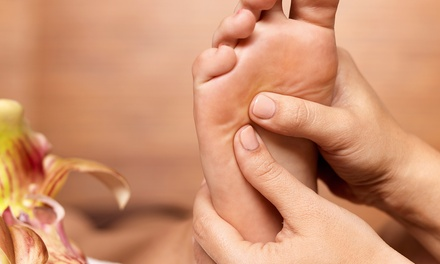60-Minute Reflexology Session or Massage at Holistic Healing (Up to 52% Off)