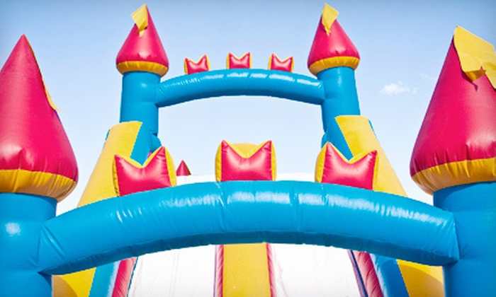 Monkey Bounce House Co. - Indianapolis: Weekday Rental of Inflatable Bounce House or Dolphin Slide with Splash Pool from Monkey Bounce House Co. (Up to 54% Off)