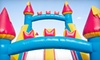 Monkey Bounce House Co.: Weekday Rental of Inflatable Bounce House or Dolphin Slide with Splash Pool from Monkey Bounce House Co. (Up to 54% Off)