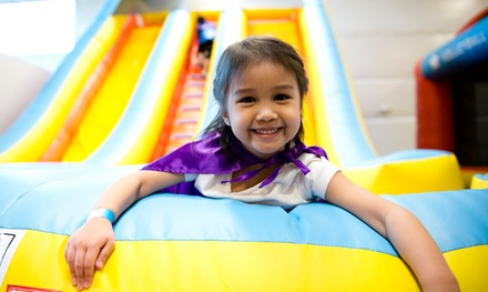 Three or Six Open Bounce Sessions at Super Bounce Salem (50% Off)