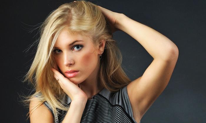 Kalli at La Ti Da Salon - Turlock: Haircut with Style or Single Full Color from Kalli at La Ti Da Salon (Up to 51% Off)