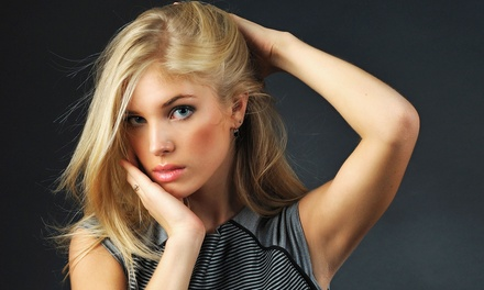 Haircut with Style or Single Full Color from Kalli at La Ti Da Salon (Up to 51% Off)