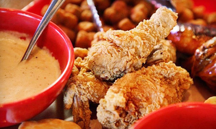 Red's Southern Diner - Meadow Lakes: Dinner of Fried Southern Fare for Two, Four, or Six at Red's Southern Diner in Edmond (Up to Half Off)