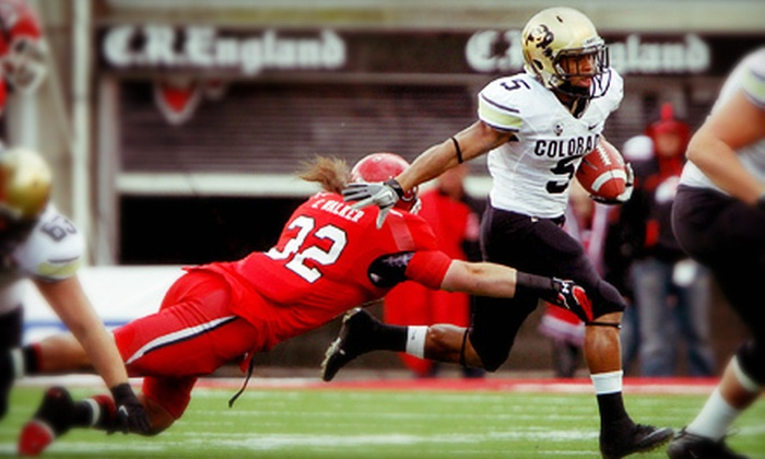 University of Colorado Football - Boulder: University of Colorado Buffaloes Football Game for One at Folsom Field on Friday, November 23, at 1 p.m. (Up to 55% Off)