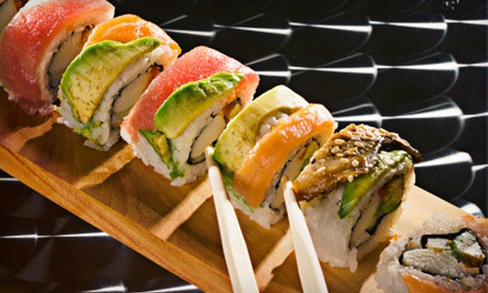 Geisha Japanese Steakhouse & Sushi Bar - Greenbrier East: $15 for $30 Worth of Sushi and Hibachi Cuisine for Dinner at Geisha Japanese Steakhouse & Sushi Bar