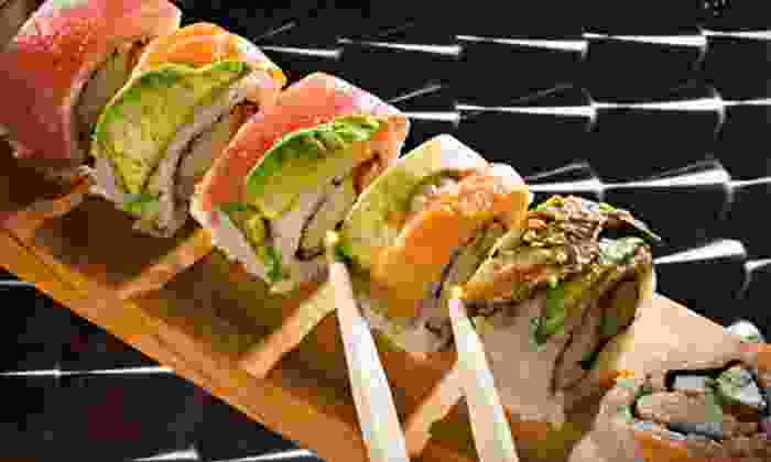 Geisha Japanese Steakhouse & Sushi Bar - Greenbrier East: $15 for $30 Worth of Sushi and Hibachi Cuisine for Dinner at Geisha Japanese Steakhouse & Sushi Bar