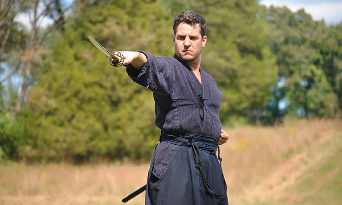 Sword Class NYC - Ripley Gier Studios: Swordsmanship Class Packages at Sword Class NYC (Up to 67% Off). Five Options Available.