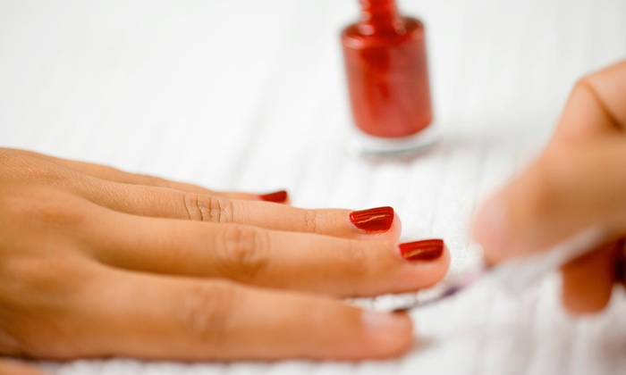 Technicuts 2000 - Middleburg Heights: $20 for Shellac Manicure at Technicuts 2000