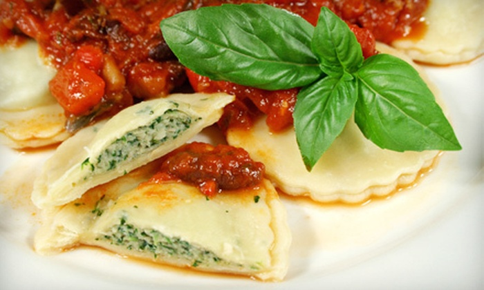 L&D's Sapore Ravioli & Cheese - Middlesex: Five Sandwiches or Wraps, or $12 for $25 Worth of Fresh Pasta, Ravioli, and Sauces at L&D's Sapore Ravioli & Cheese