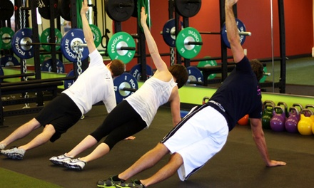Five or Ten Group Fitness Sessions or Three Personal-Training Sessions at The Fusion Gym (Up to 52% Off)