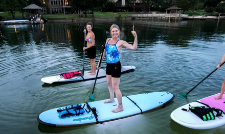 Standup Paddleboarding or Kayaking at My Aloha Paddle and Surf Inc (Up to 46% Off). Four Options Available.