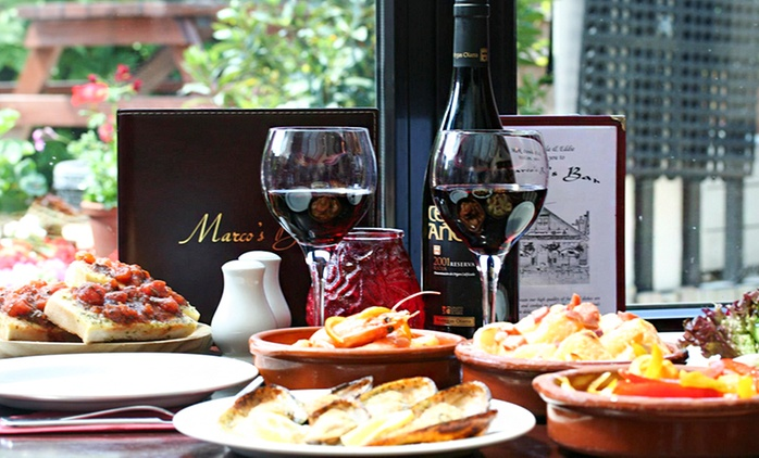 £40 or £80 Worth of Spanish Food for Two or Four at Marco's Bar (Up to 50% Off)