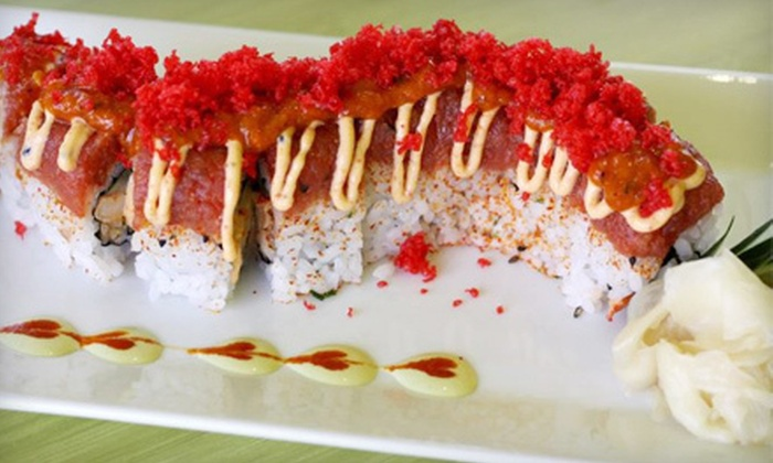 Sushipop - Spring Branch West: Sushi, Wraps, and Burgers at Sushipop (Up to 56% Off). Two Options Available.