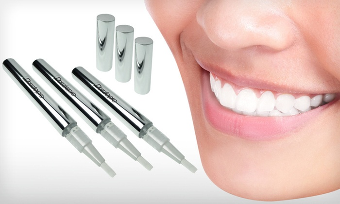 Three-Pack of Professional Teeth-Whitening Pens : $14.99 for a Three-Pack of Dazzle Pro Teeth-Whitening Pens ($87 List Price)