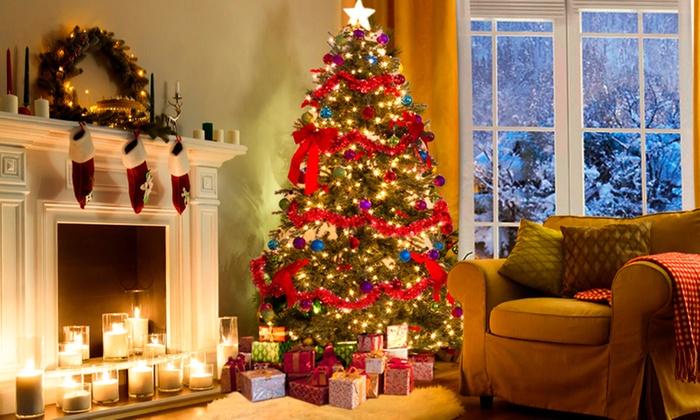68% Off Christmas Trees | Groupon