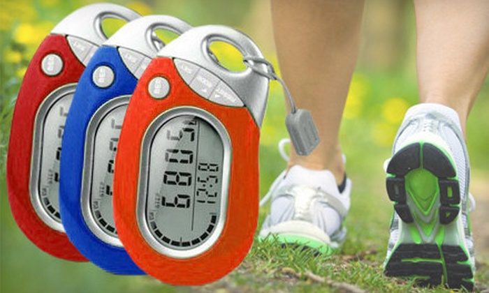 Pedusa Tri-Axis Pedometer: $12 for a Pedusa PE-771 Tri-Axis Multi-Function Pocket Pedometer ($25 Value). Shipping Included. Five Colors Available.