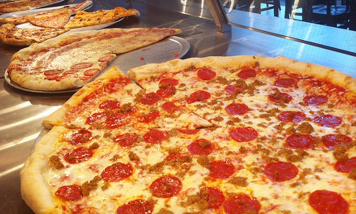 Andrea Pizza - Downtown West: $7 Worth of New York–Style Pizza