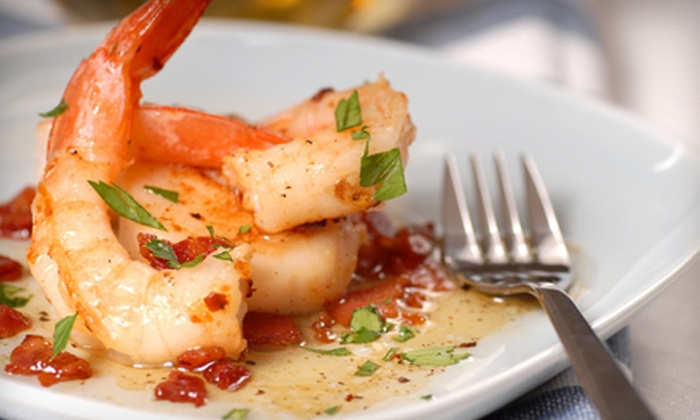 Mulino's of Westchester - White Plains: Upscale Italian Dinner with Wine for Two or Four at Mulino's of Westchester (Up to 49% Off). Four Options Available.