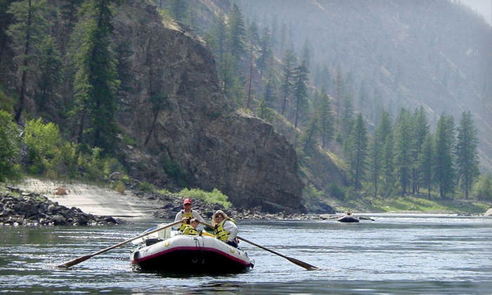 Yellow Jacket River Guides - Idaho's Salmon River: Three- or Four-Day All-Inclusive Camping and Rafting Adventure for One from Yellow Jacket River Guides in Riggins, ID