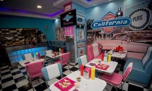 California Burger: 2 menus burgers au choix avec frites et boisson à 16,90 € au restaurant California Burger