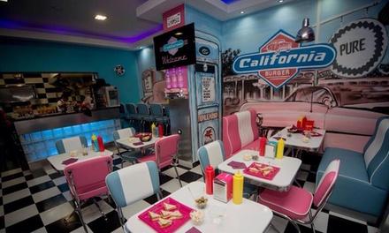 2 menus burgers au choix avec frites et boisson à 16,90 € au restaurant California Burger