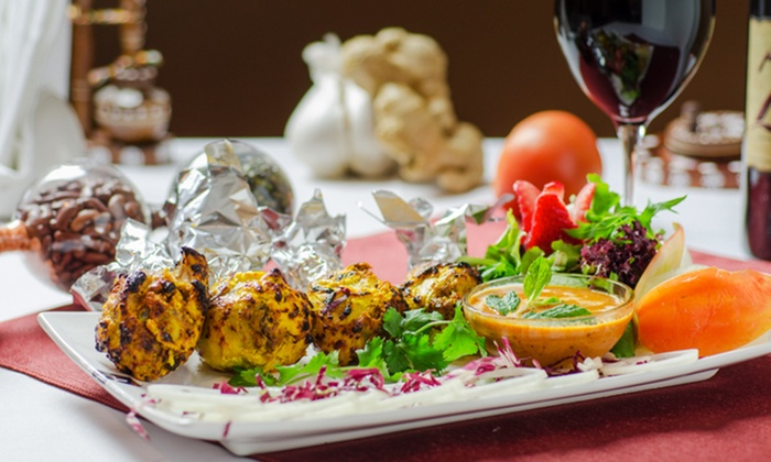 Curry Sensation - South Surrey: Four-Course Indian Cuisine for Two or Four at Curry Sensation (38% Off)