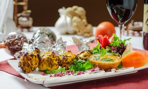 Curry Sensation: Four-Course Indian Cuisine for Two or Four at Curry Sensation (38% Off)
