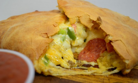$13 for $20 Worth of Calzones and Sides at D.P. Dough Iowa City