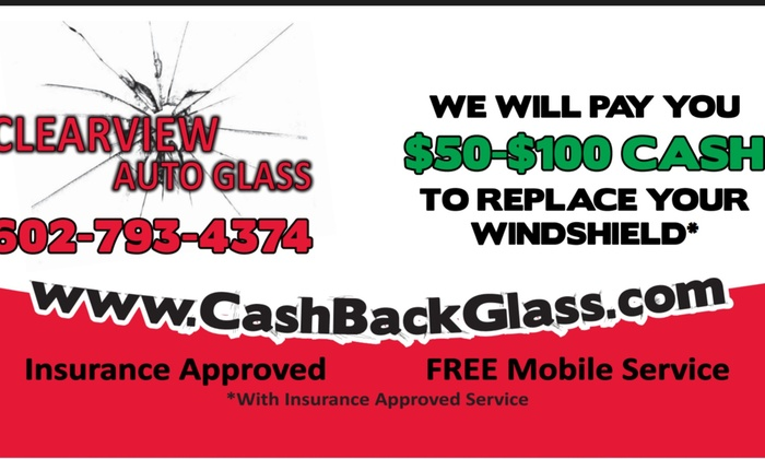 Clearview Auto Glass - Phoenix: Up to 90% Off Windshield Replacement  at Clearview Auto Glass