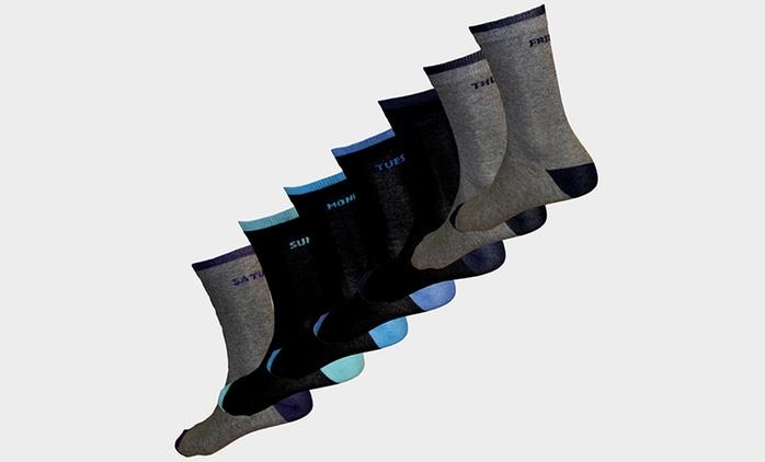 Calcetines para hombre Días de la Semana por 12,98 € (57% de descuento)