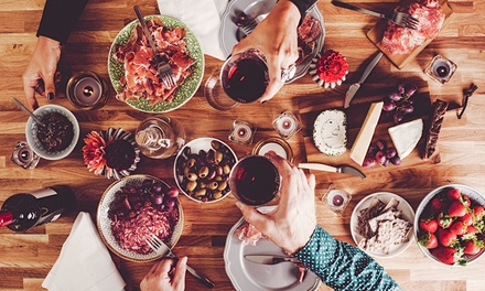 Tapas and Wine for Two $35 or Four People $65 at Swannies Restaurant, Southport Up to $137 Value