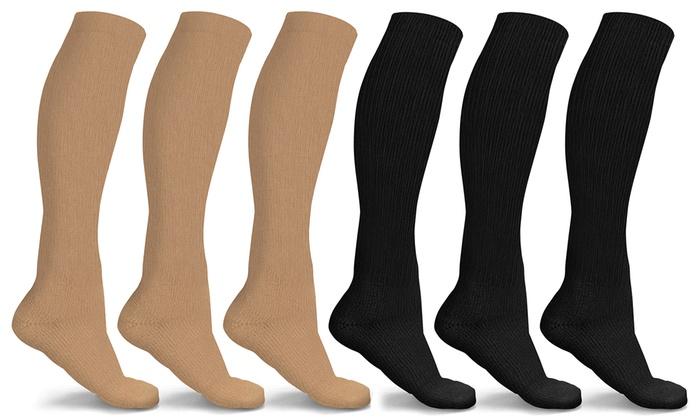 d880d4df39 Up To 71% Off on DCF Compression Socks (6-Pack) | Groupon Goods
