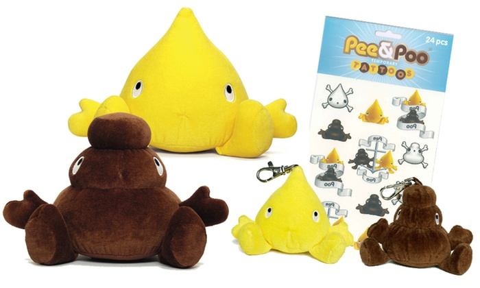 Pee and poo toy