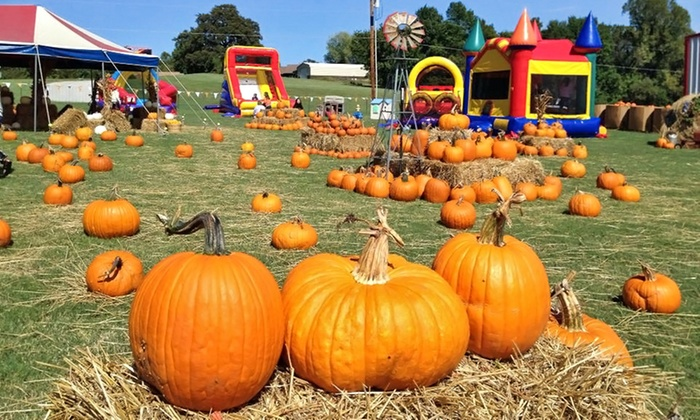 Sand Springs Pumpkin Patch Festival - Sand Springs: $10 for Three Kids' Activities at Sand Springs Pumpkin Patch Festival ($18 Value)