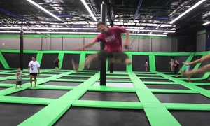 ClubLife SportsZone: Two Hours of Trampoline Jump Time for Two or Four at ClubLife SportsZone (50% Off)