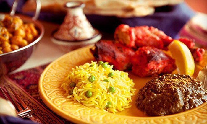 Shalimar Indian Restaurant - Hurstbourne Acres: Indian Cuisine at Shalimar Indian Restaurant (Up to 53% Off). Two Options Available.
