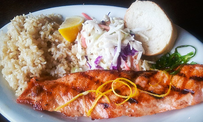 Five Hooks Fish Grill - Upper Queen Anne: Seafood at Five Hooks Fish Grill (Half Off). Two Options Available.