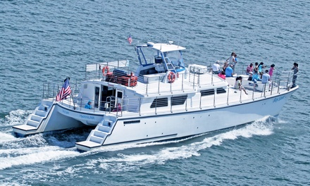 75-Minute Lighthouse Boat Tour for Two or Four at Bay Spirit Tours (Up to 51% Off)