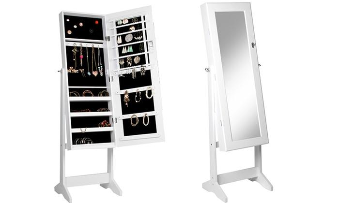 Armadio specchio porta gioielli groupon goods - Armadio specchio gioielli ...