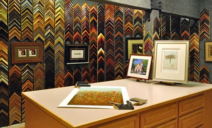 image for Custom Framing at Studio Seven Arts (Up to 74% Off). Two Options Available.