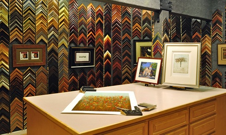 Custom Framing at Studio Seven Arts (Up to 74% Off). Two Options Available.
