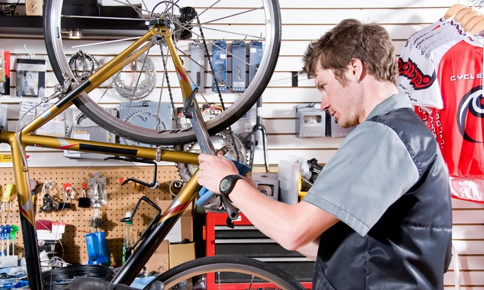 Veloworks Urban Cyclery - Fountain Square: $28 for $55 Worth of Bicycle Repair — Veloworks Urban Cyclery